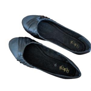 REFRESH Black Ballet Flat Shoes woman 10 11
